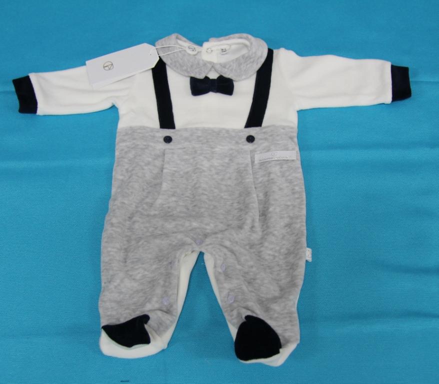 Tutina-Pigiama-Neonato-Intero-NAZARENO-Baby-CINIGLIA-Clinica-Bambino