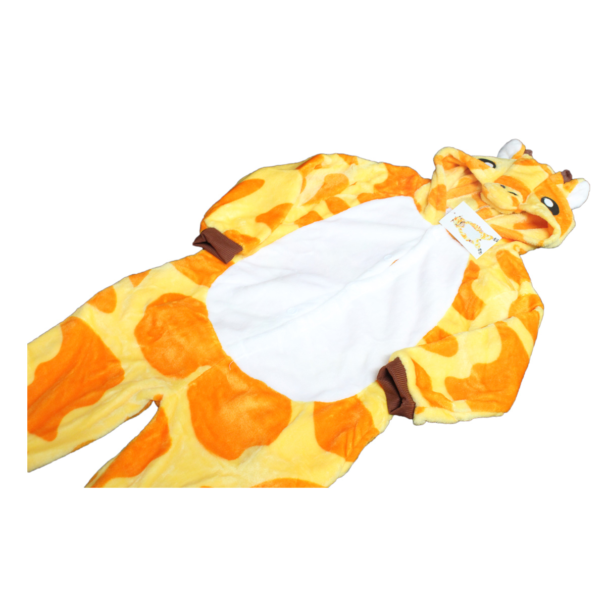 Tuta-Pigiama-Costume-Onesie-Carnevale-Halloween-Uomo-Donna-Unisex-GIRAFFA