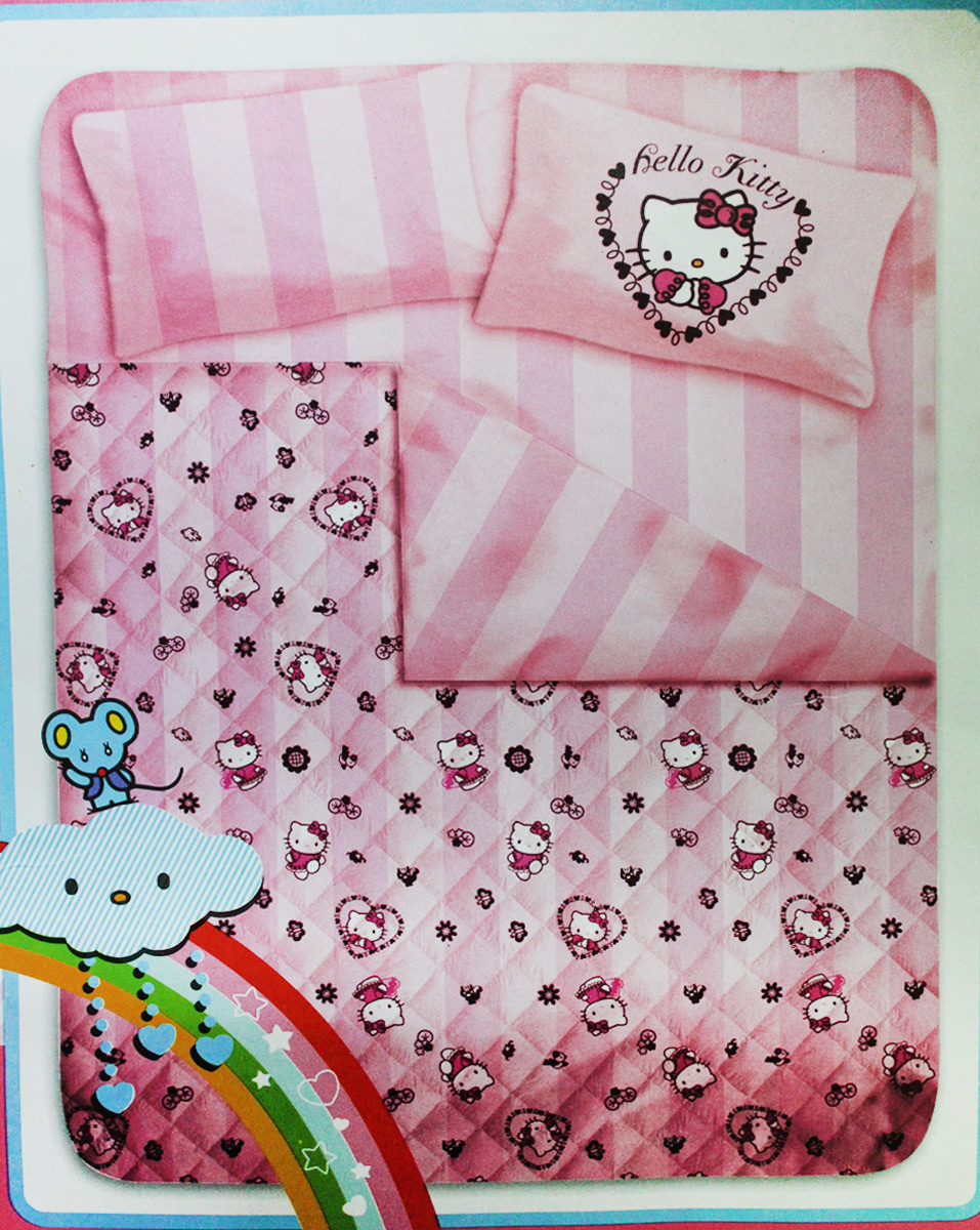 Copriletto Matrimoniale Hello Kitty.Dettagli Su Trapunta Piumone Hello Kitty Rosa Letto Singolo 170 X 260 Cm