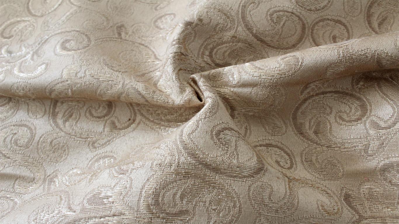 Tessuto-Tappezzeria-Arredamento-Raso-Damascato-Ramace-Vari-Colori-280x280-cm miniatura 9