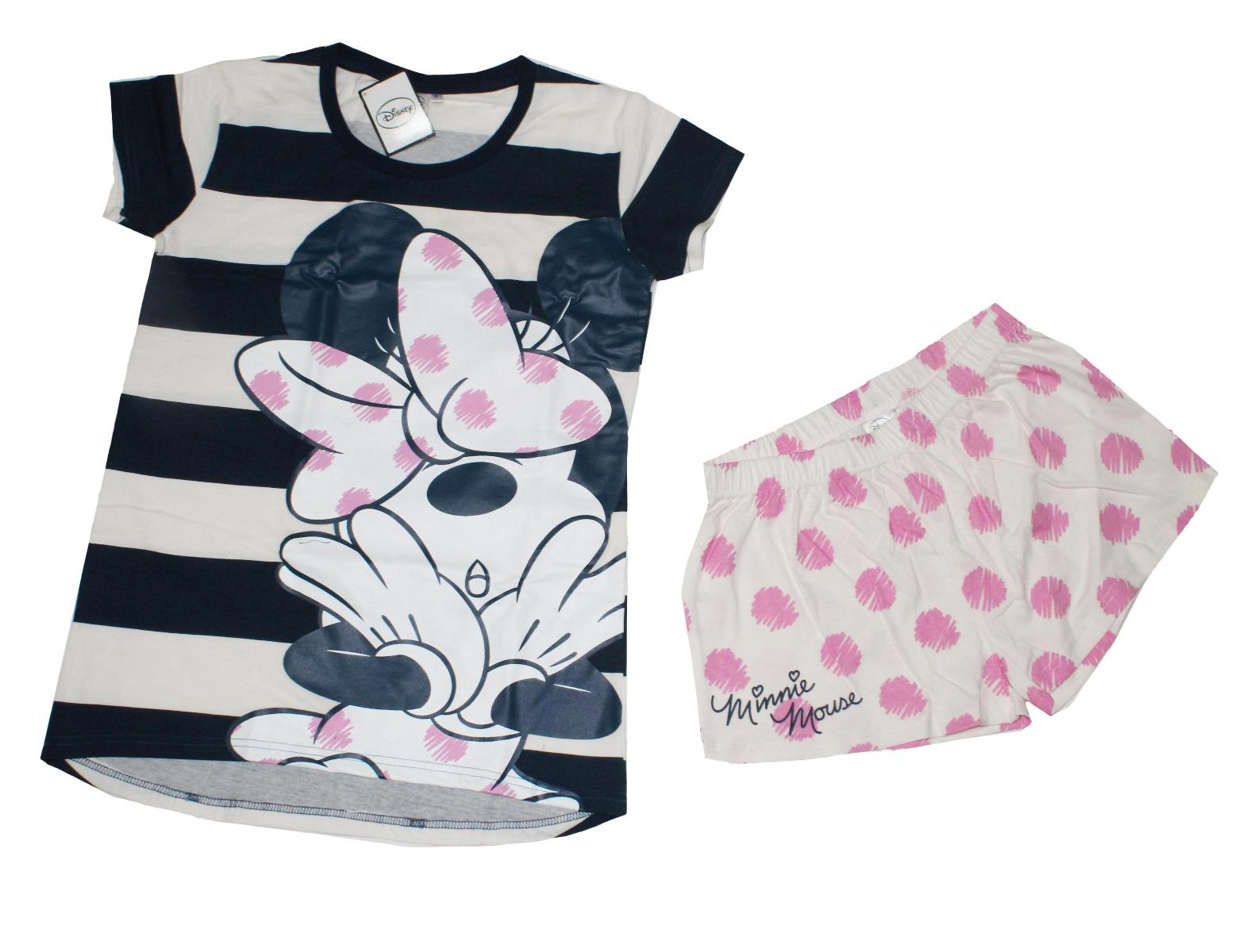 Minnie Mouse : Pigiama Grigio da Ragazza Disney : :