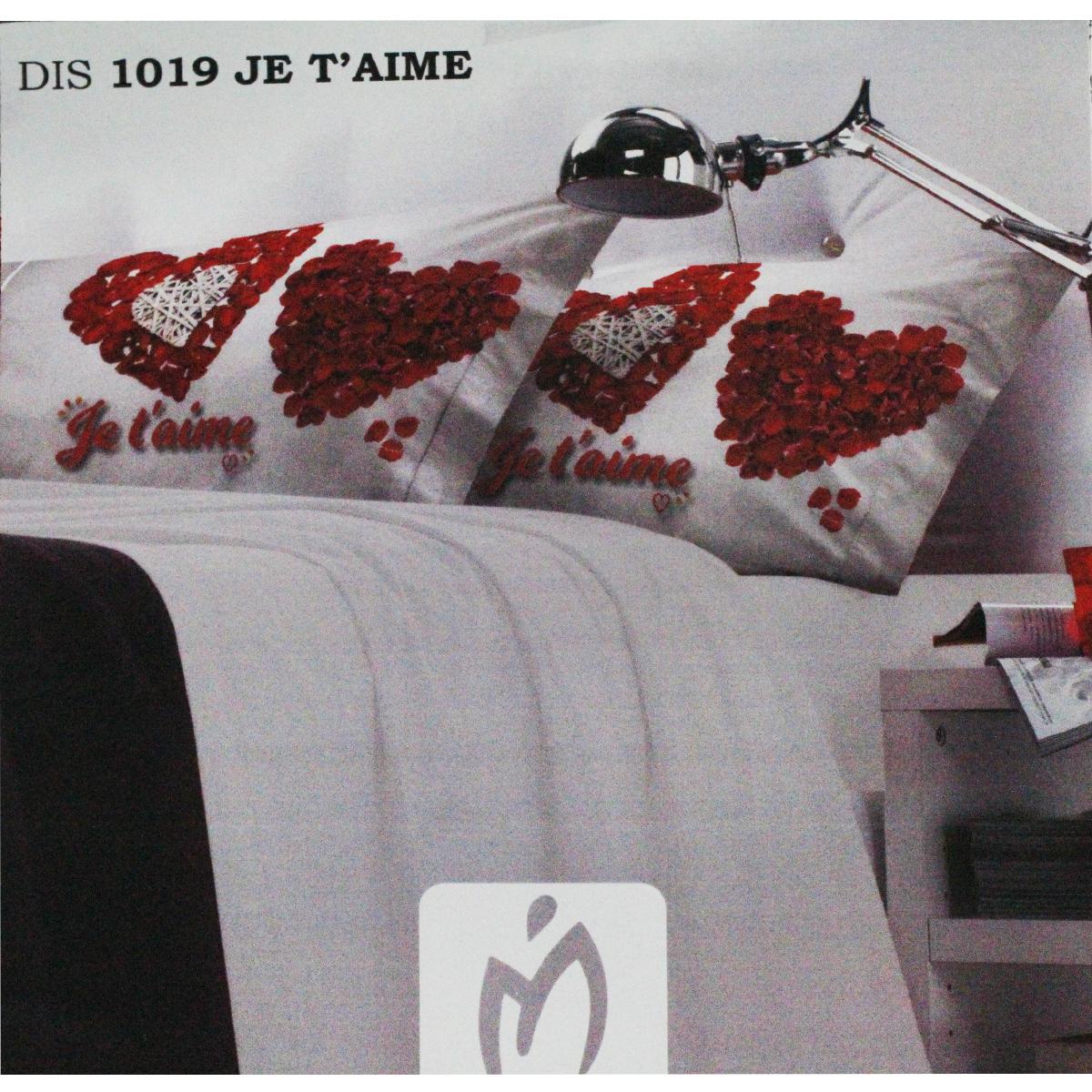 Lenzuola Letto Matrimoniale Marta Marzotto Stampa Digitale Je T Aime Ebay