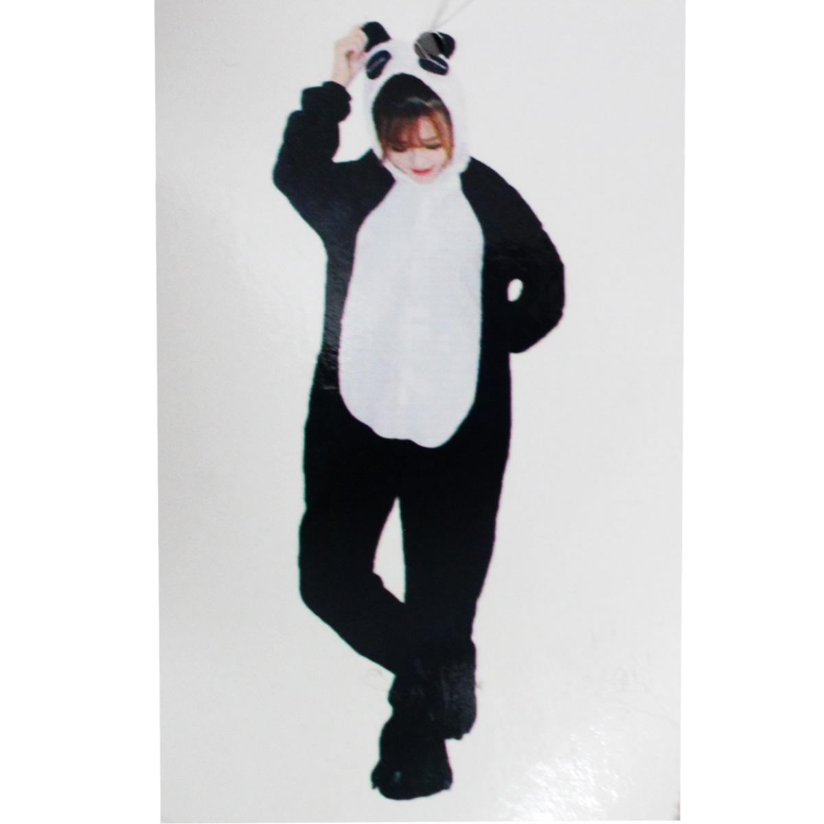 Tuta-Pigiama-Costume-Onesie-Carnevale-Halloween-Uomo-Donna-Unisex-Panda